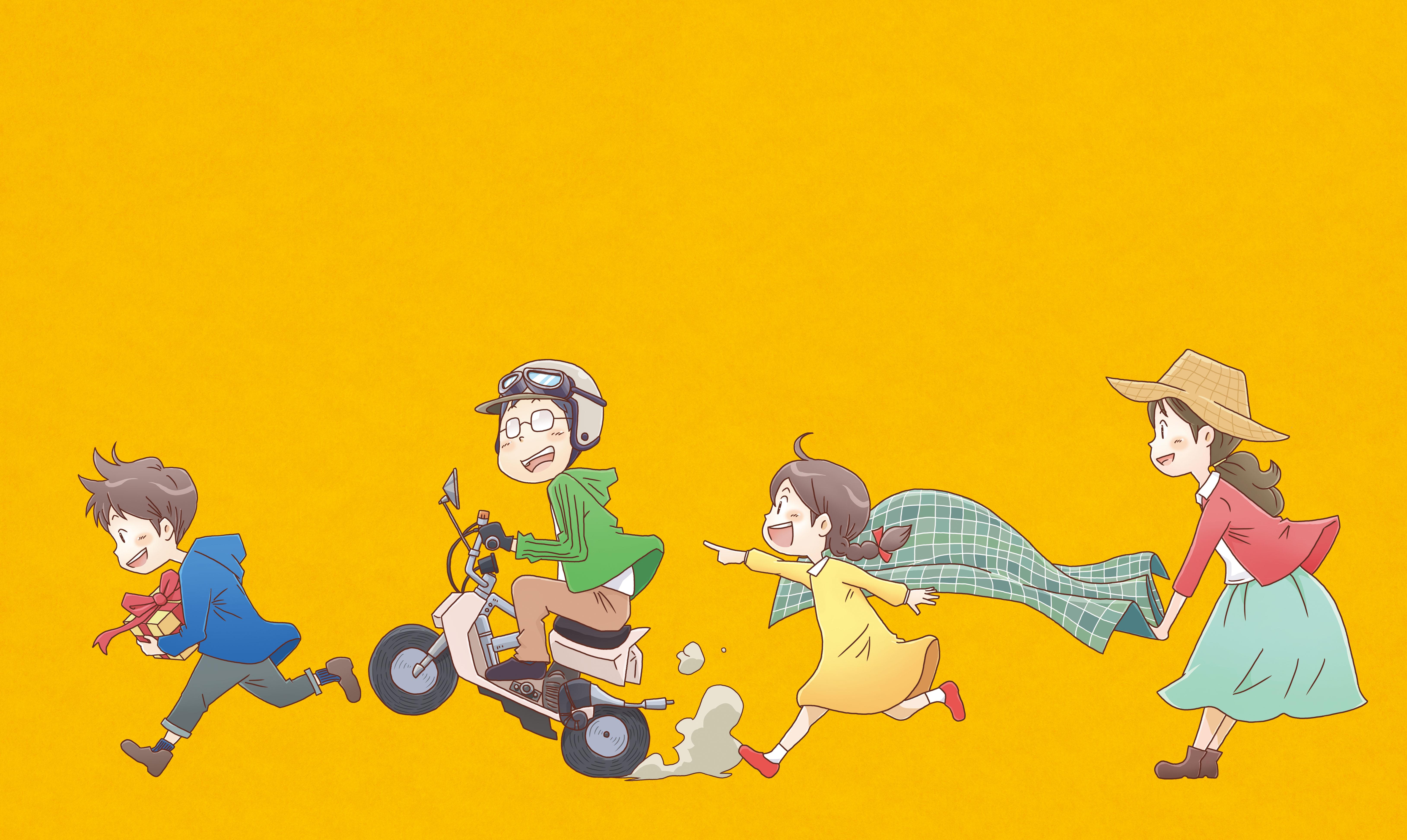 アピタイメージキャラクター「いちピタくん」イラスト